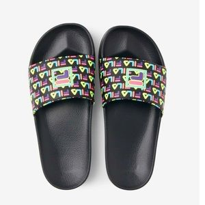 Fila Drifter Mood 2 Slide Multi Black